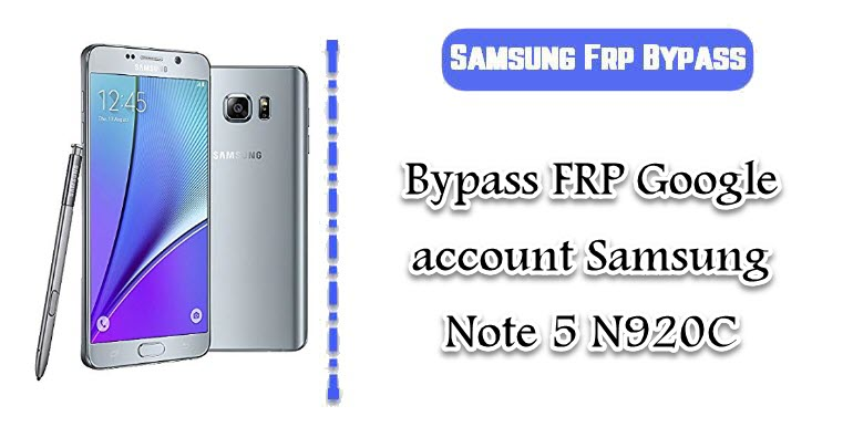 FRP Google account Samsung Note 7 N930F