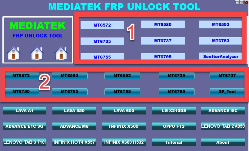 Download MTK FRP Remove Tool for all MediaTek devices
