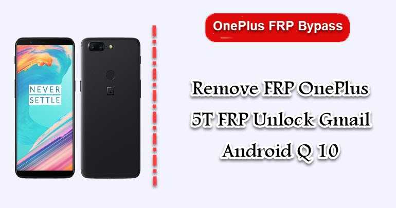 Remove FRP OnePlus 5T