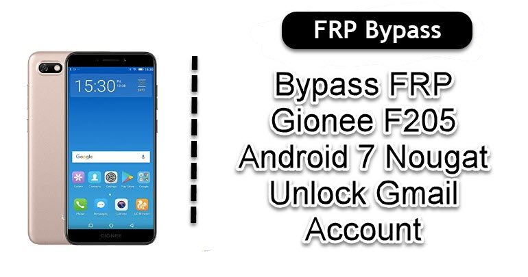 Bypass FRP Gionee F205