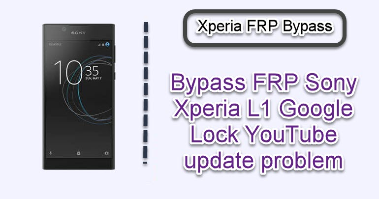 Bypass FRP Sony Xperia L1