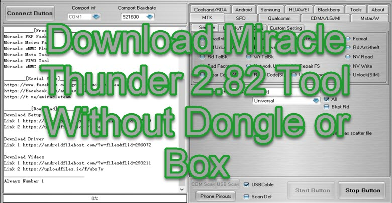Download Miracle Thunder 2.82 Tool