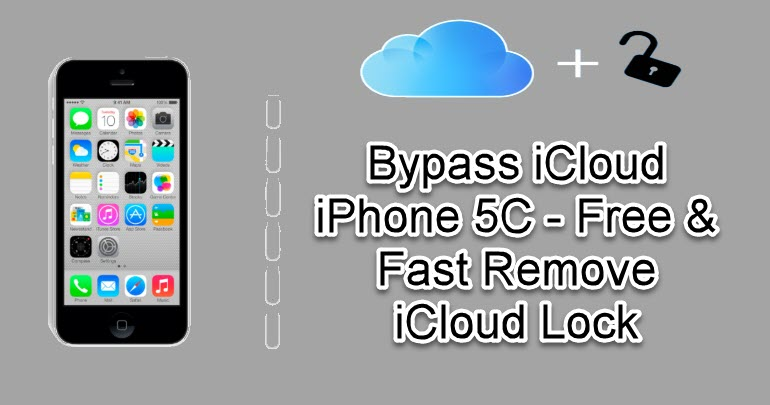 Bypass iCloud iPhone 5C