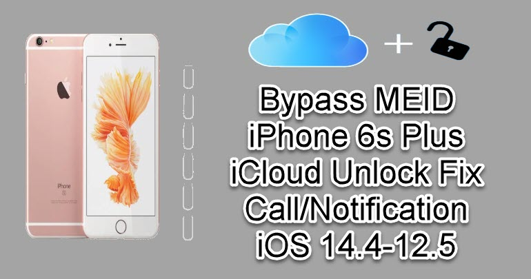 Bypass MEID iPhone 6s Plus