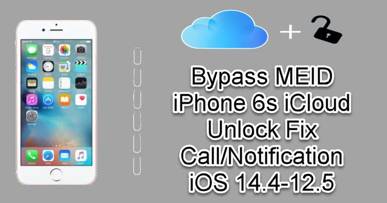 Bypass MEID iPhone 6s