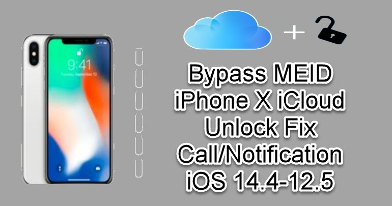 Bypass MEID iPhone X iCloud