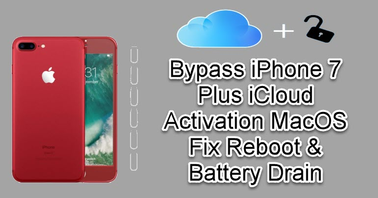 Bypass iPhone 7 Plus