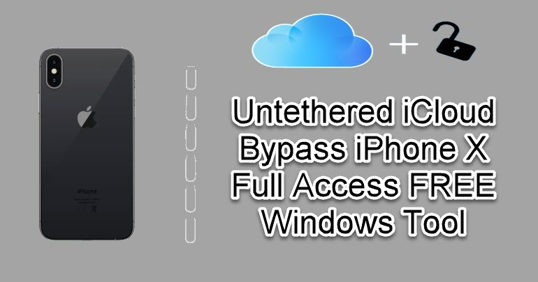 Untethered iCloud Bypass iPhone X