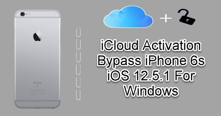 iCloud Activation Bypass iPhone 6s