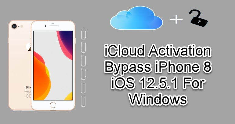 iCloud Activation Bypass iPhone 8