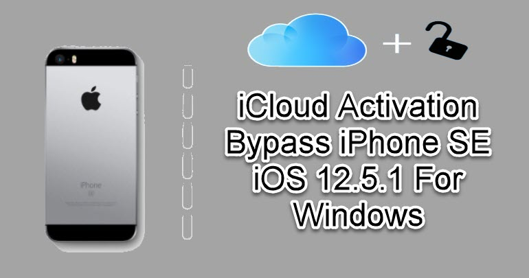 iCloud Activation Bypass iPhone SE