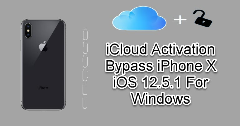 iCloud Activation Bypass iPhone X