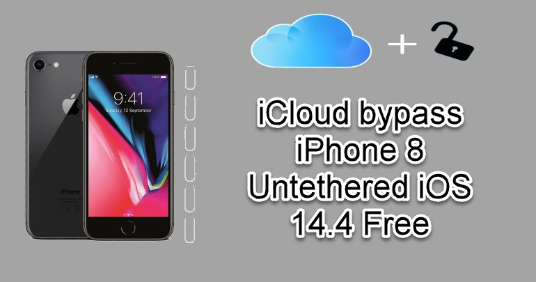 iCloud bypass iPhone 8