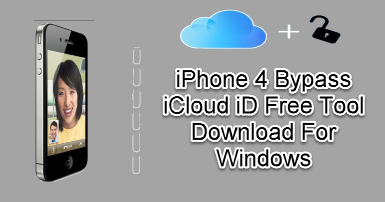 iPhone 4 Bypass iCloud