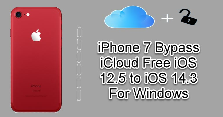 iPhone 7 Bypass iCloud
