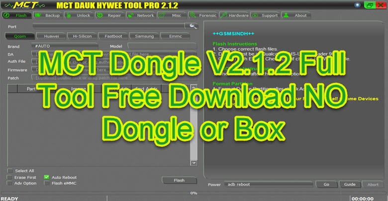 Download MCT Dongle V2.1.2 Full Tool