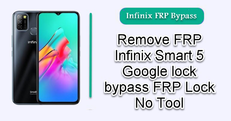 Remove FRP Infinix Smart 5
