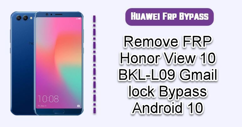 Remove FRP Honor View 10